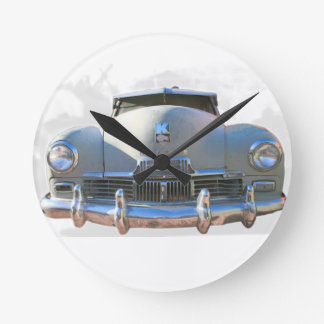 Auto clásico de Kaiser Reloj Redondo Mediano