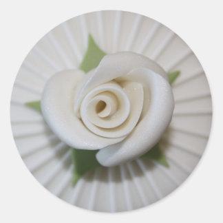 Auto colante Button of Rosa