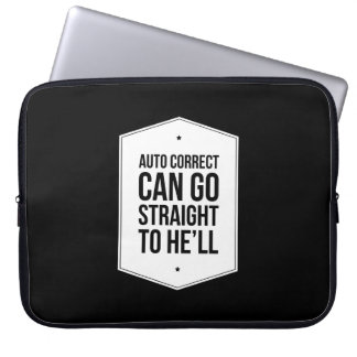 Auto Correct Office Humor Laptop Bag Laptop Computer Sleeves