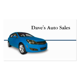 Auto Dealer Double-Sided Standard Business Cards (Pack Of 100)