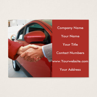 Auto Dealer Business image for Business Card