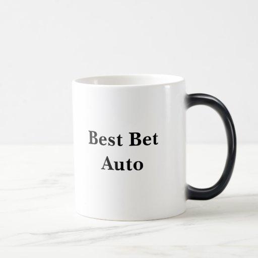 Auto del lo mejor que se puede hacer taza de café