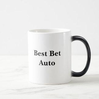 Auto del lo mejor que se puede hacer taza mágica