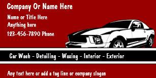 Auto detailing business cards zazzle auto detail business cards colourmoves