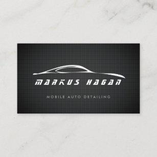 auto detailing auto repair business card - Auto Repair Business Cards