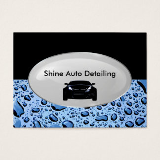 Auto Detailing Business Business Card