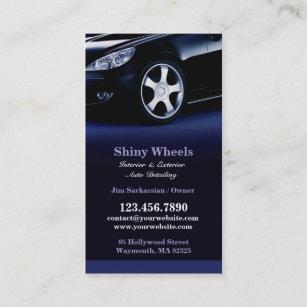 Shiny business cards zazzle auto detailing business card colourmoves
