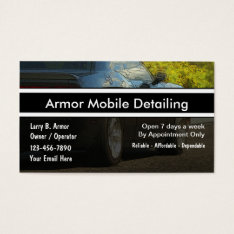 Auto Detailing Business Cards at Zazzle