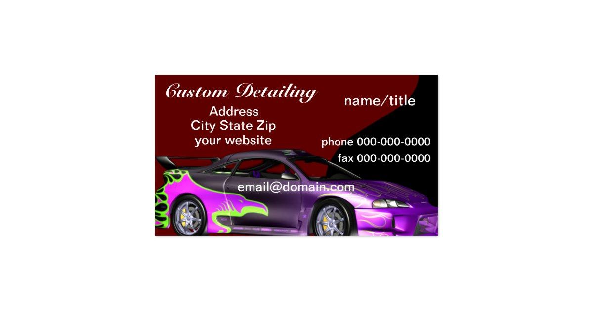 Auto detail business cards idealstalist auto detail business cards colourmoves