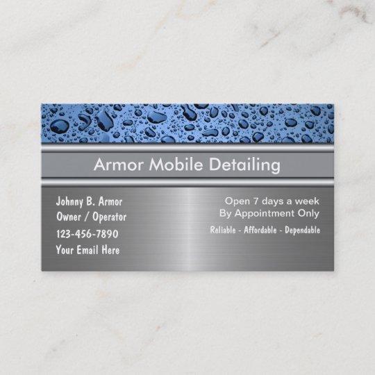 Auto detailing business cards zazzle auto detailing business cards colourmoves