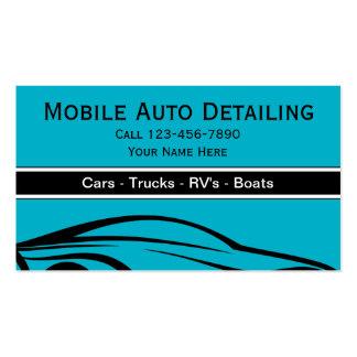 Mobile auto detailer business cards templates zazzle for Mobile auto detailing business cards