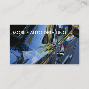 Auto detailing business cards zazzle auto detailing business cards reheart Gallery
