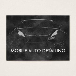 Auto Detailing Business Cardsn Business Card
