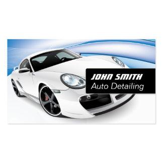 Auto Detailing Car Wash Modern Business Card