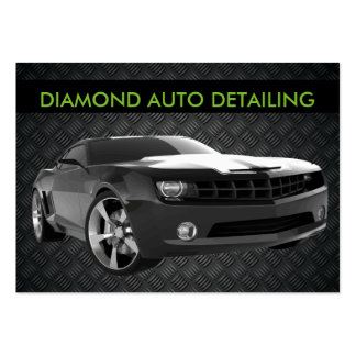 Auto Detailing Large Business Card