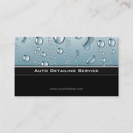 Auto detailing professional automotive car business card zazzle auto detailing professional automotive car business card reheart Gallery