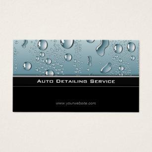 Auto detailing business cards templates zazzle auto detailing professional automotive car business card colourmoves Images