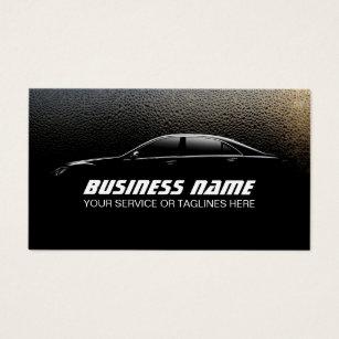 Auto detailing business cards templates zazzle auto detailing water drops professional car business card colourmoves Images