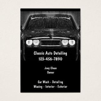 Auto Detailng Business Cards