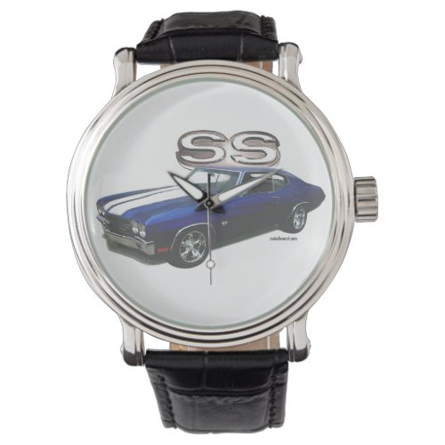 Auto Face Watch 1970 Chevelle SS