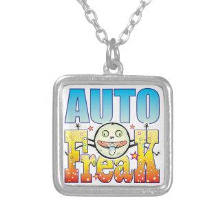 Auto Freaky Freak Square Pendant Necklace