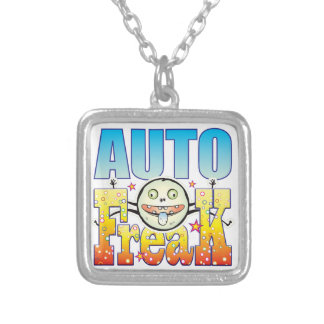 Auto Freaky Freak Silver Plated Necklace