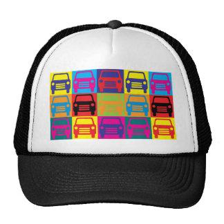 Auto Glass Pop Art Hats