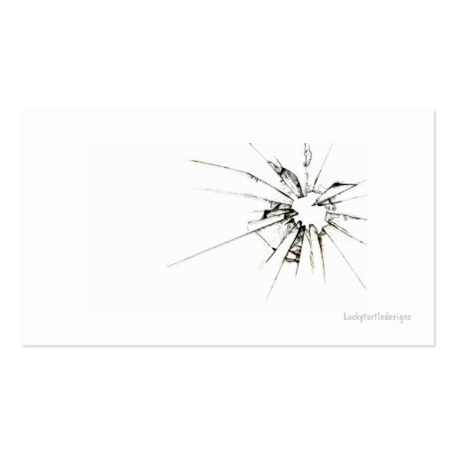 Auto Glass Repair Business Card (back side)
