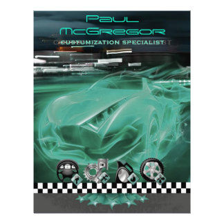 Auto It centers/Customization Specialist Flyer