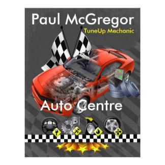 Auto It centers/TuneUp Mechanic Flyer