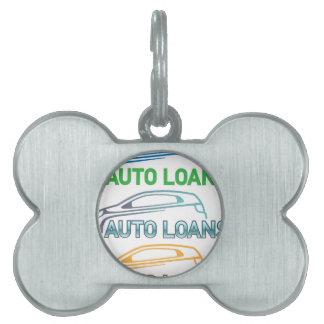 Auto Loan Pet ID Tag