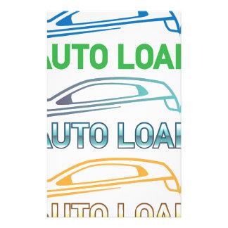 Auto Loan Stationery