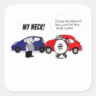Auto Lotto Sticker