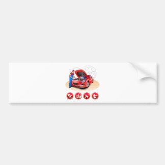 Auto mechanic bumper sticker