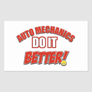 Auto Mechanic designs Rectangular Sticker