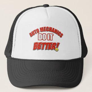 Auto Mechanic designs Trucker Hat