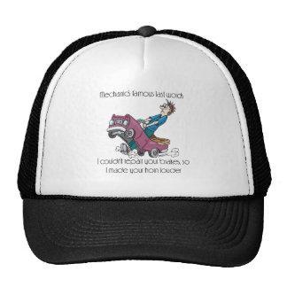 Auto Mechanic Made Horn Louder Trucker Hat