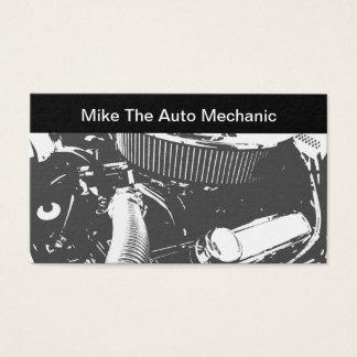 Retro car mechanics business cards templates zazzle auto mechanic theme business card reheart Choice Image