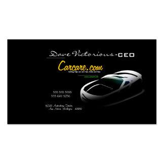 Auto Motor Vehicle Car Care Business Card
