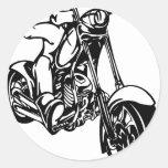 auto/motorräder runder sticker