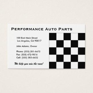 Auto Parts B Business Card