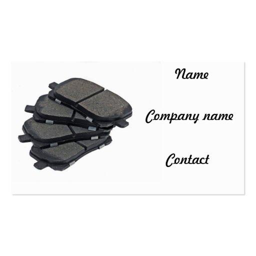 Auto parts business card zazzle for Auto parts business cards
