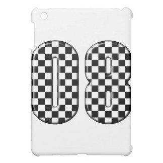 auto racing 08 number case for the iPad mini
