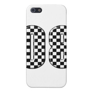 auto racing 08 number iPhone SE/5/5s case