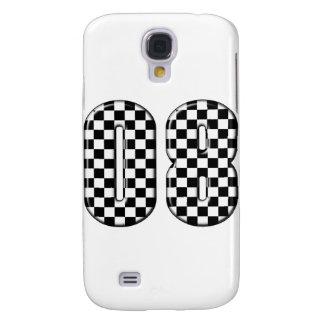 auto racing 08 number samsung s4 case
