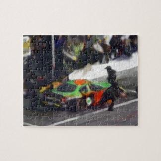 Auto Racing 2 Puzzle