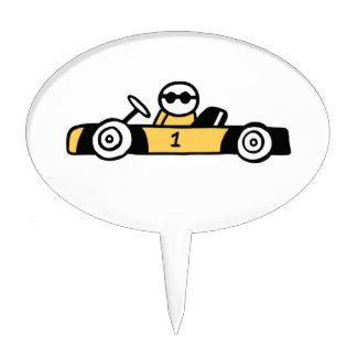 Auto Racing, Car Racing Cake Topper