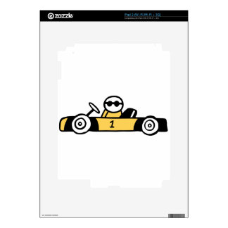 Auto Racing, Car Racing Decals For iPad 2