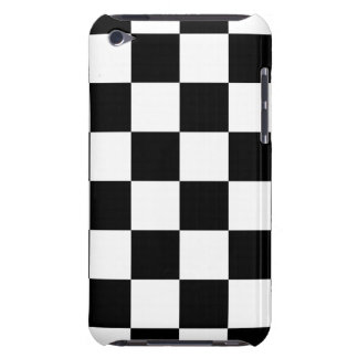 Auto Racing Chequered  Checkered Flag Case-Mate iPod Touch Case