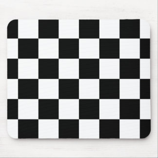 Auto Racing Chequered Checkered Flag Mouse Pads